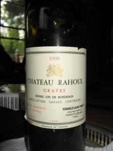 1990 Chateau Rahoul