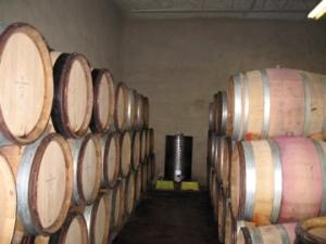 Le Clos Jordanne wine barrels