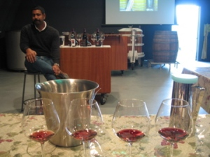 Shiraz Mottiar, Malivoire's winemaker