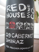 Red House Wine Company 2009 Cabernet Shiraz