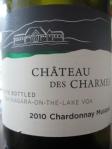 Chateau des Charmes Chardonnay Musque 2010