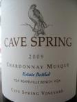 Cave Spring Cellars 2009 Chardonnay Musque