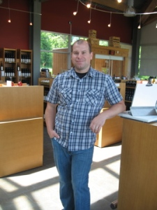 Richie Roberts, Winemaker at Fielding Estate Winery