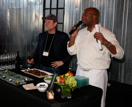 Winemaker Joel Peterson and Chef Rob Rainford